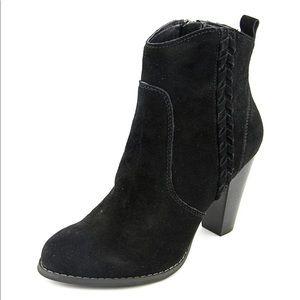 EUC Very Volatile Black Suede Boots size 7